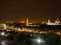 Panoramica da Piazzale Michelangelo - Firenze