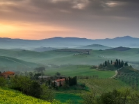 Val d'Orcia e Crete senesi - (Toscana)